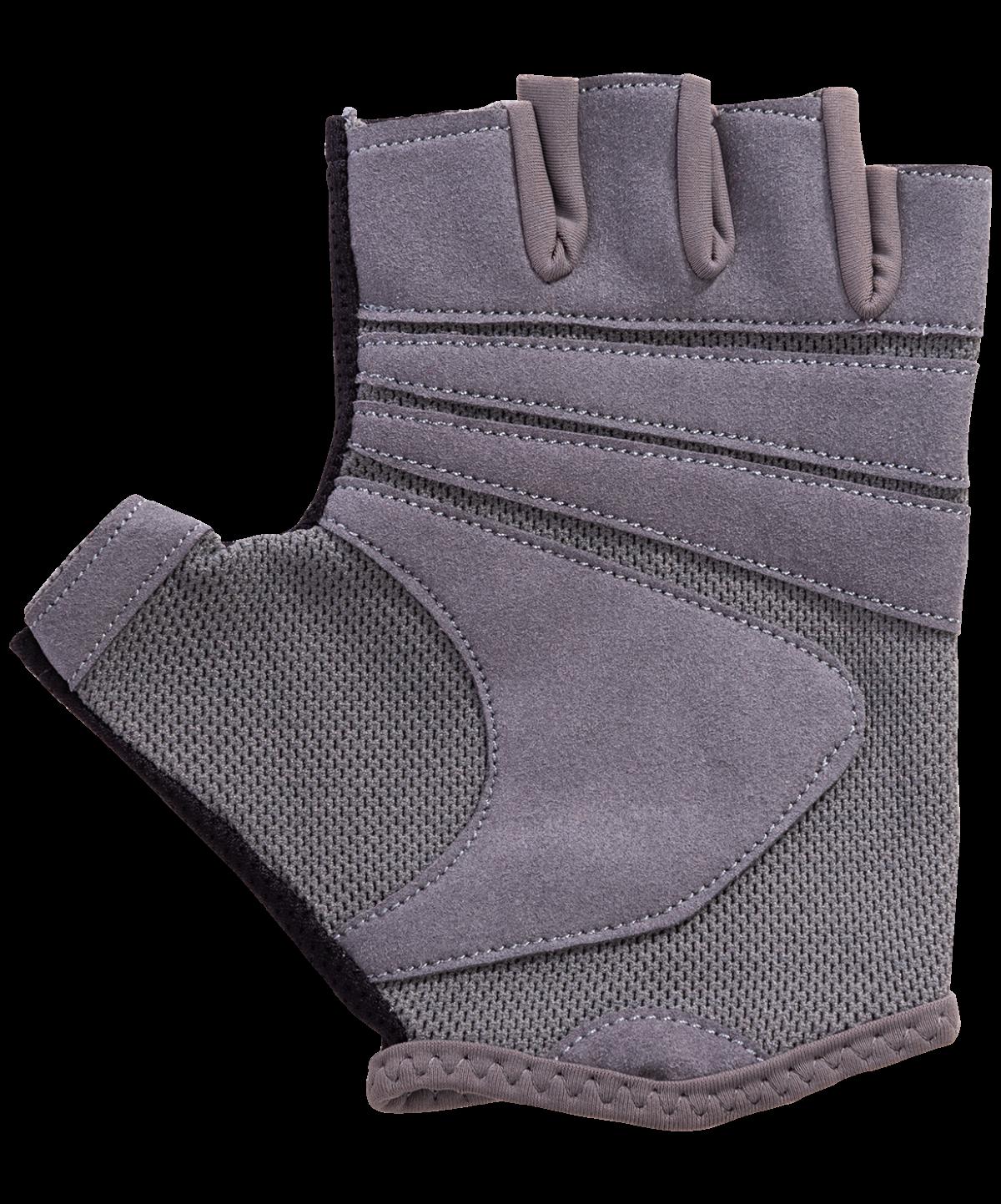 STARFIT Перчатки для фитнеса SU-127 : чёрный/серый - 4