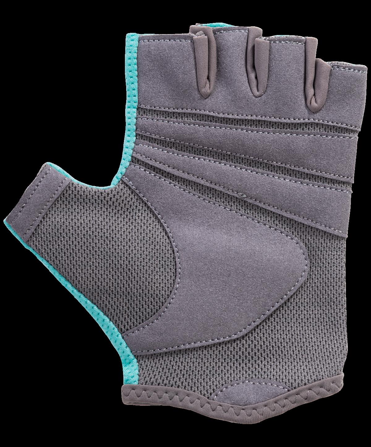STARFIT Перчатки для фитнеса SU-127 : мятный/серый - 4