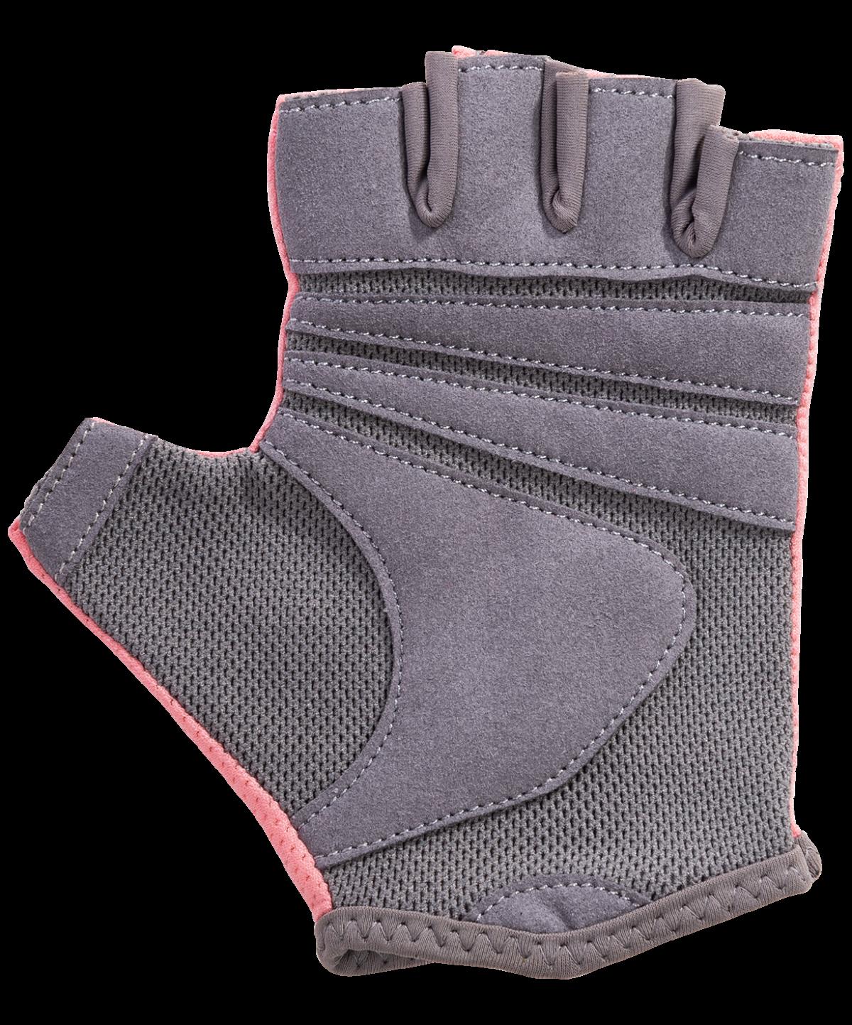 STARFIT Перчатки для фитнеса SU-127 : розовый/серый - 4