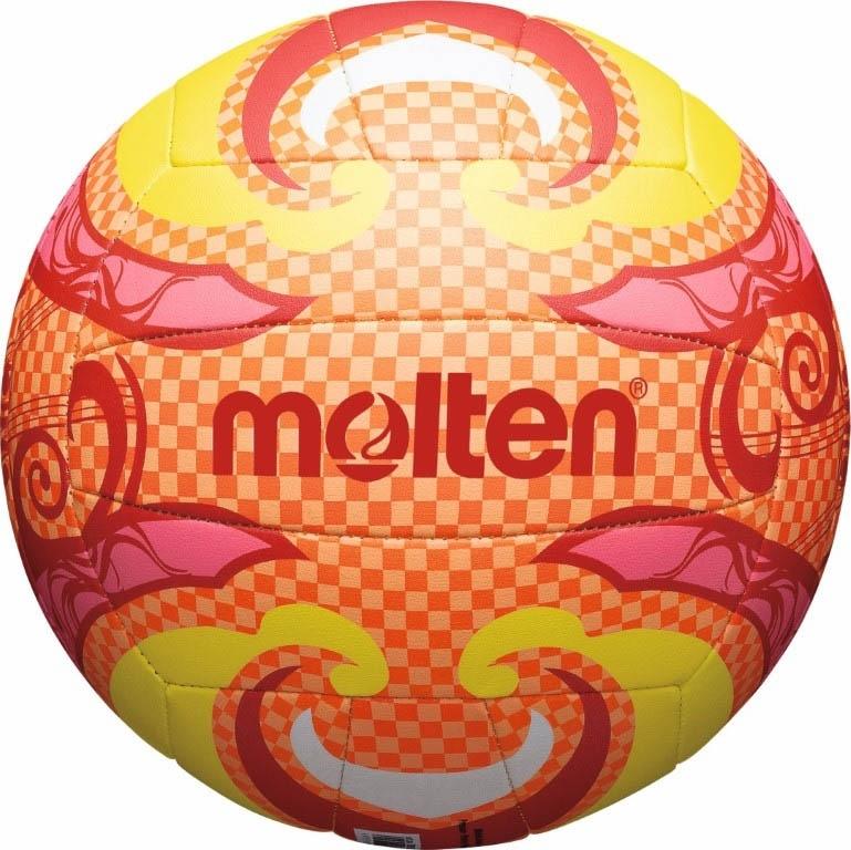 MOLTEN Мяч для пляжного волейбола V5B1502-О №5 - 1