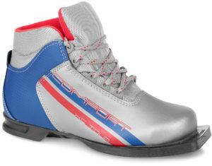 NNN MXN SYSTEM Comfort Ботинки лыжные: серебро/синий - 5