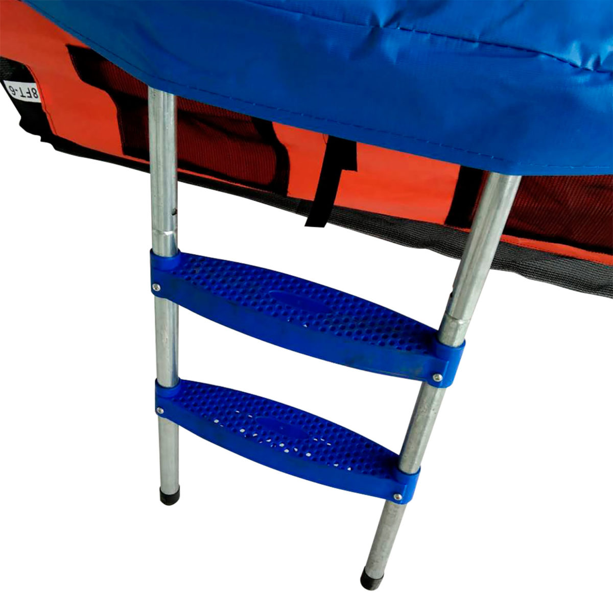 DFC Батут DFC JUMP BASKET с внутр. сеткой, лестница (244 см) - 2