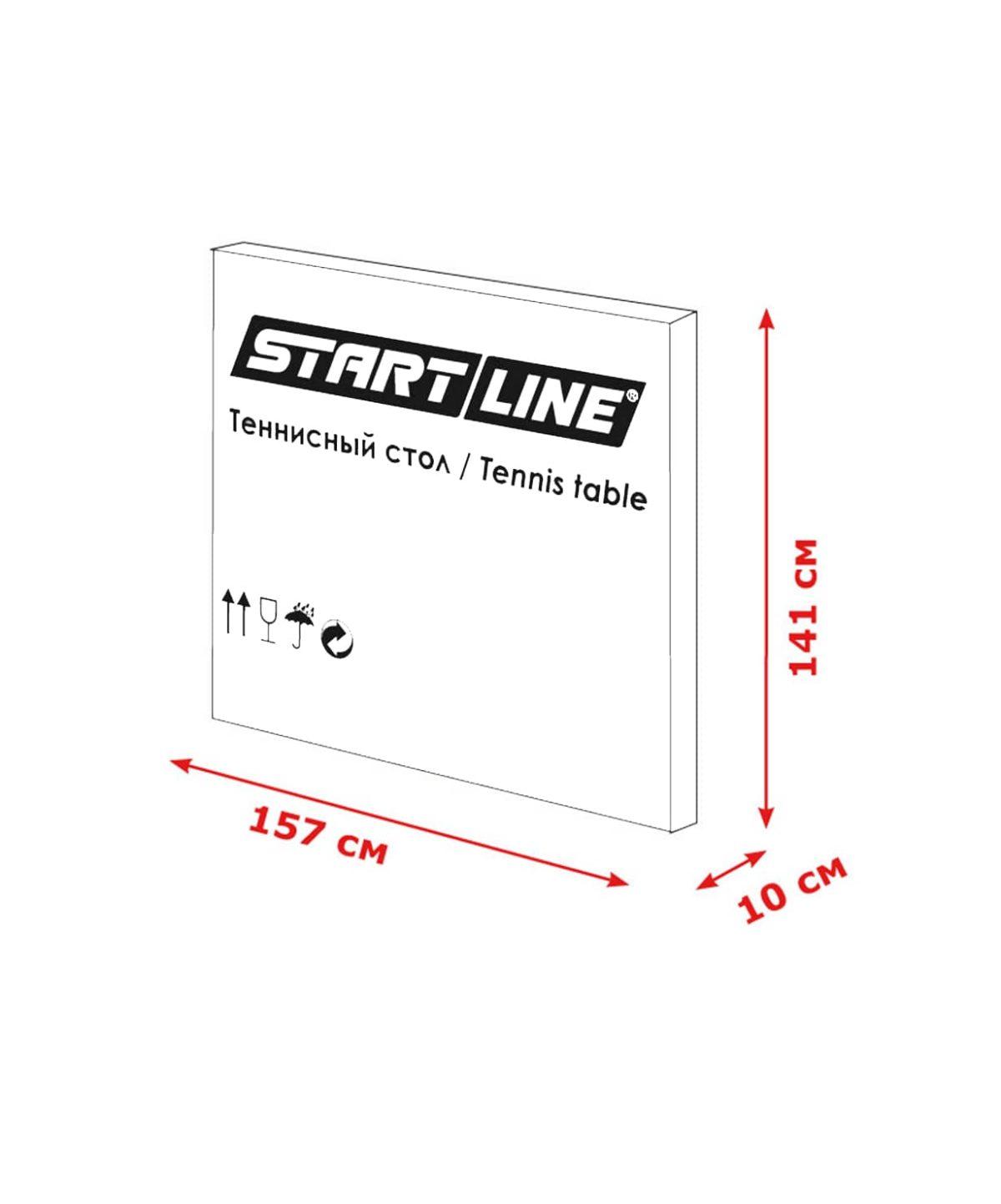 START LINE Game Indoor Cтол для настольного тенниса c сеткой  2374 - 3