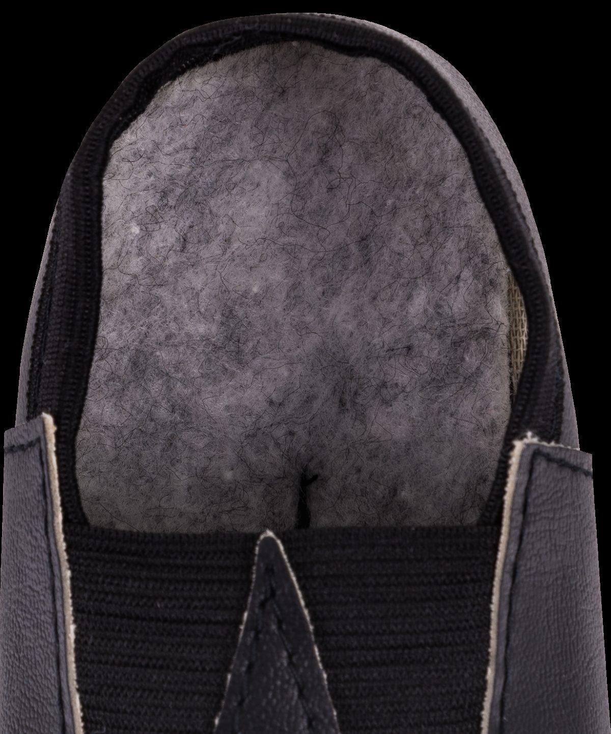 Чешки классические кожзам  3840: чёрный - 2