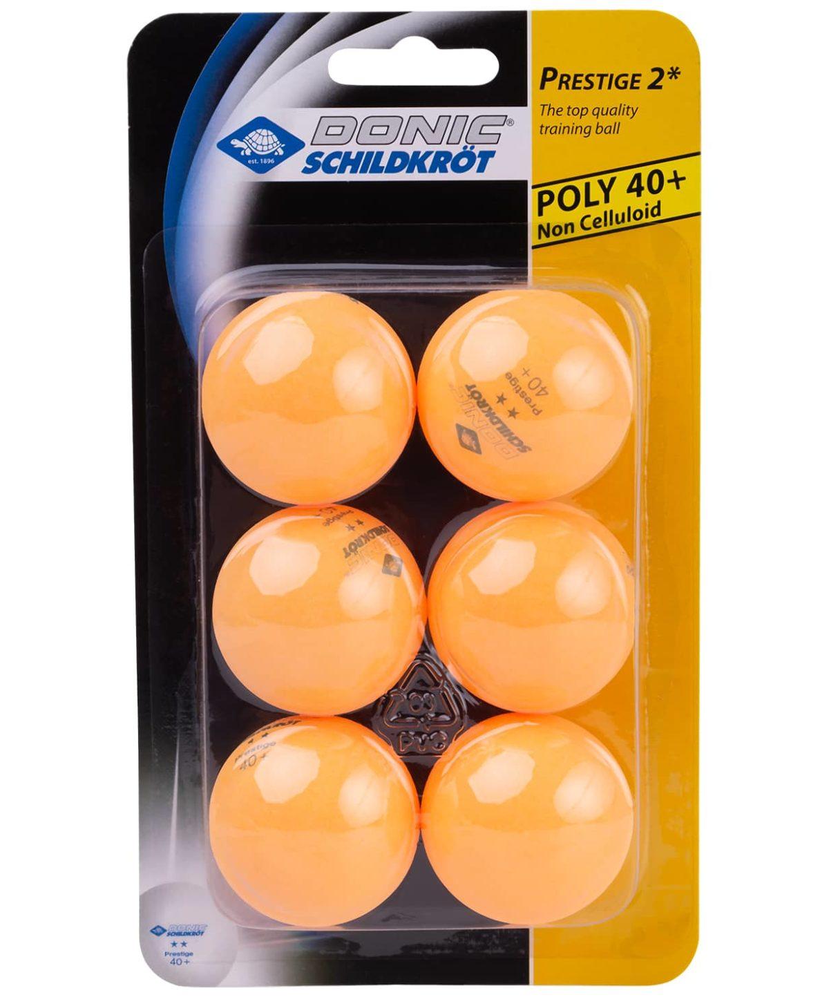 DONIC Schildkrot 2* Prestige Мяч для настольного тенниса  15343 - 1