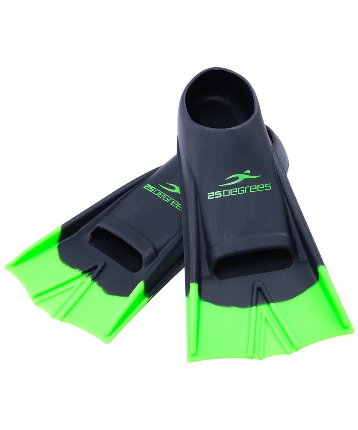 25DEGREES Aquajet Ласты тренировочные Black/Green  1738 - 1