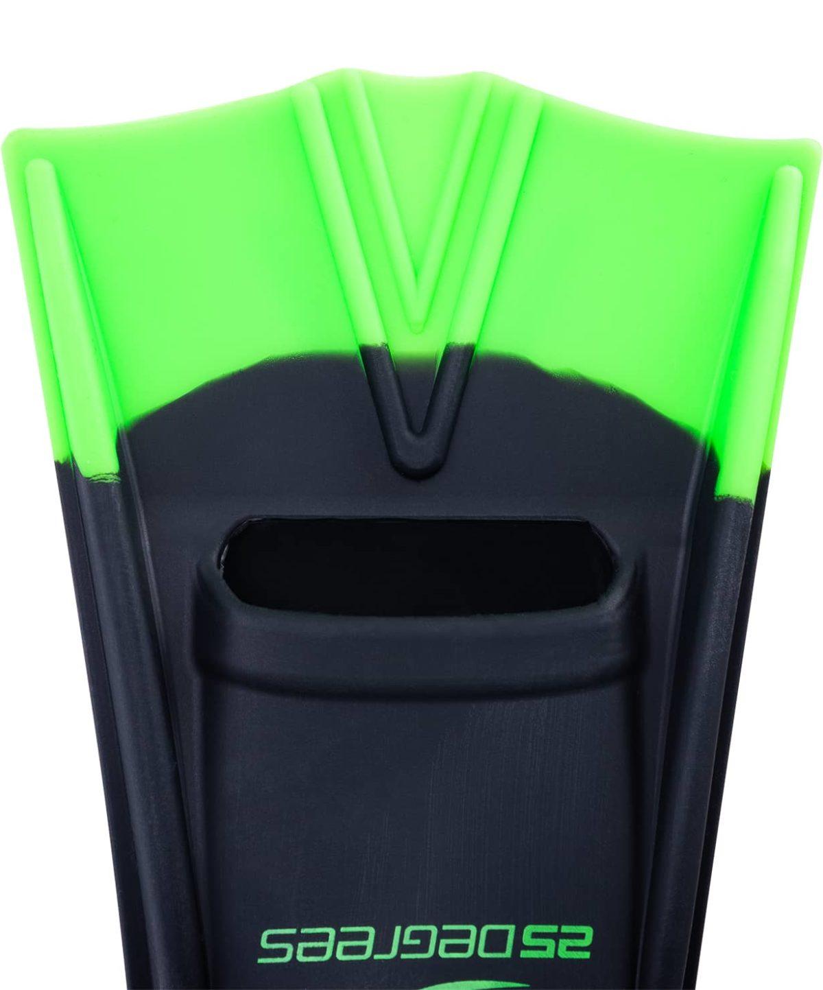 25DEGREES Aquajet Ласты тренировочные Black/Green  1738 - 4