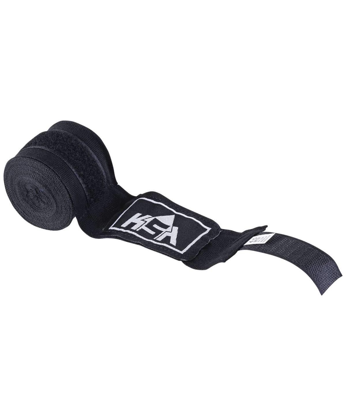 KSA Бинт боксерский, хлопок/полиэстер, 2.5 м Hunter Black  1788 - 1