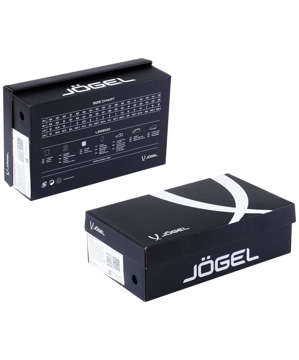 JOGEL Бутсы зальные Rapido р.34-38  JSH101Y: чёрный - 2