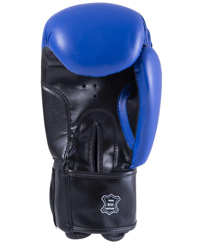 KSA Spider Blue Перчатки боксерские, 6 oz, к/з   17804 - 2
