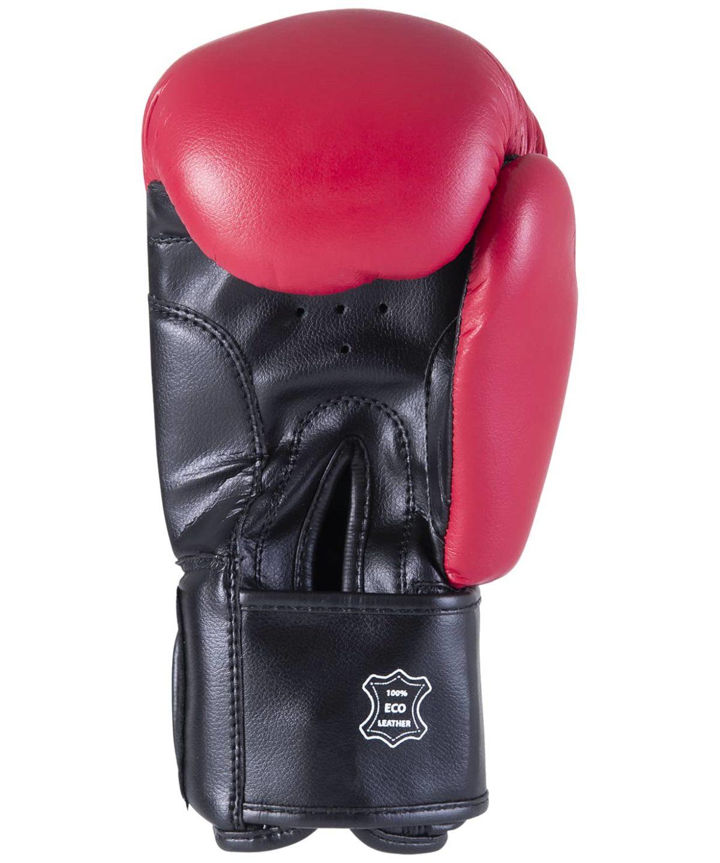 KSA Spider Red Перчатки боксерские, 8 oz, к/з 17811: красный - 4