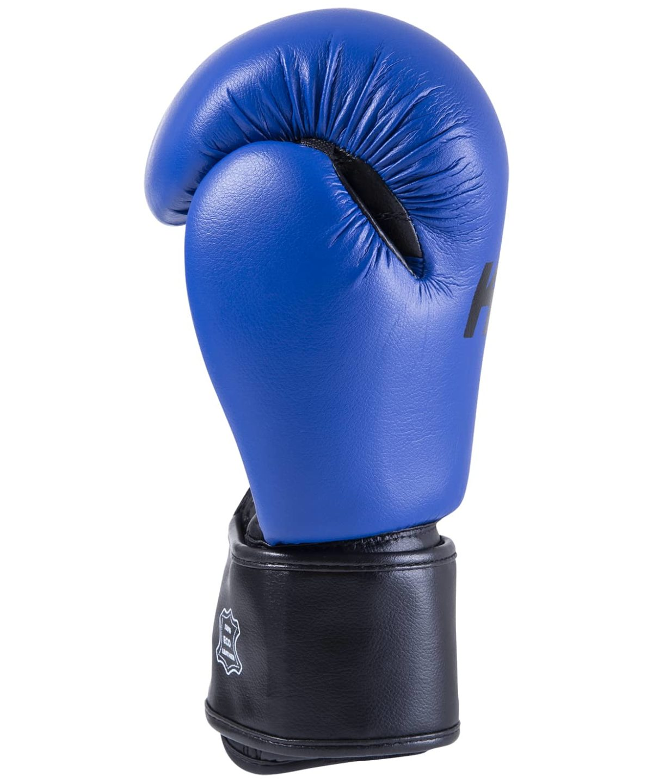 KSA Spider Red Перчатки боксерские, 8 oz, к/з 17811: синий - 3