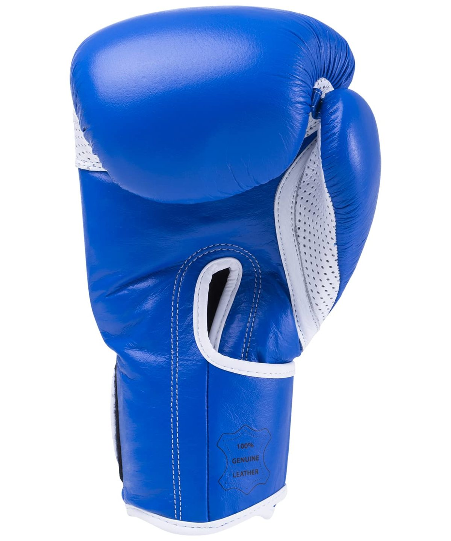 KSA Wolf Blue Перчатки боксерские, 10 oz, кожа 17830 - 2