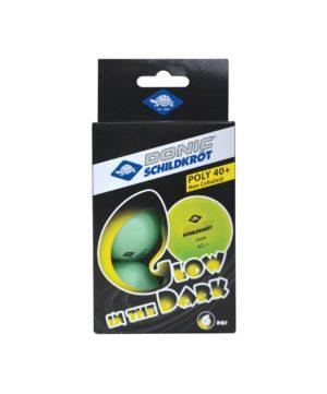 DONIC Schildkrot Glow in the dark Мяч для настольного тенниса  18112 - 2