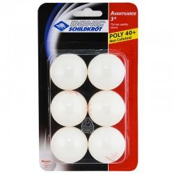 DONIC Schildkroet Avantgarde 3*** Мяч для настольного тенниса  608530: белый - 1
