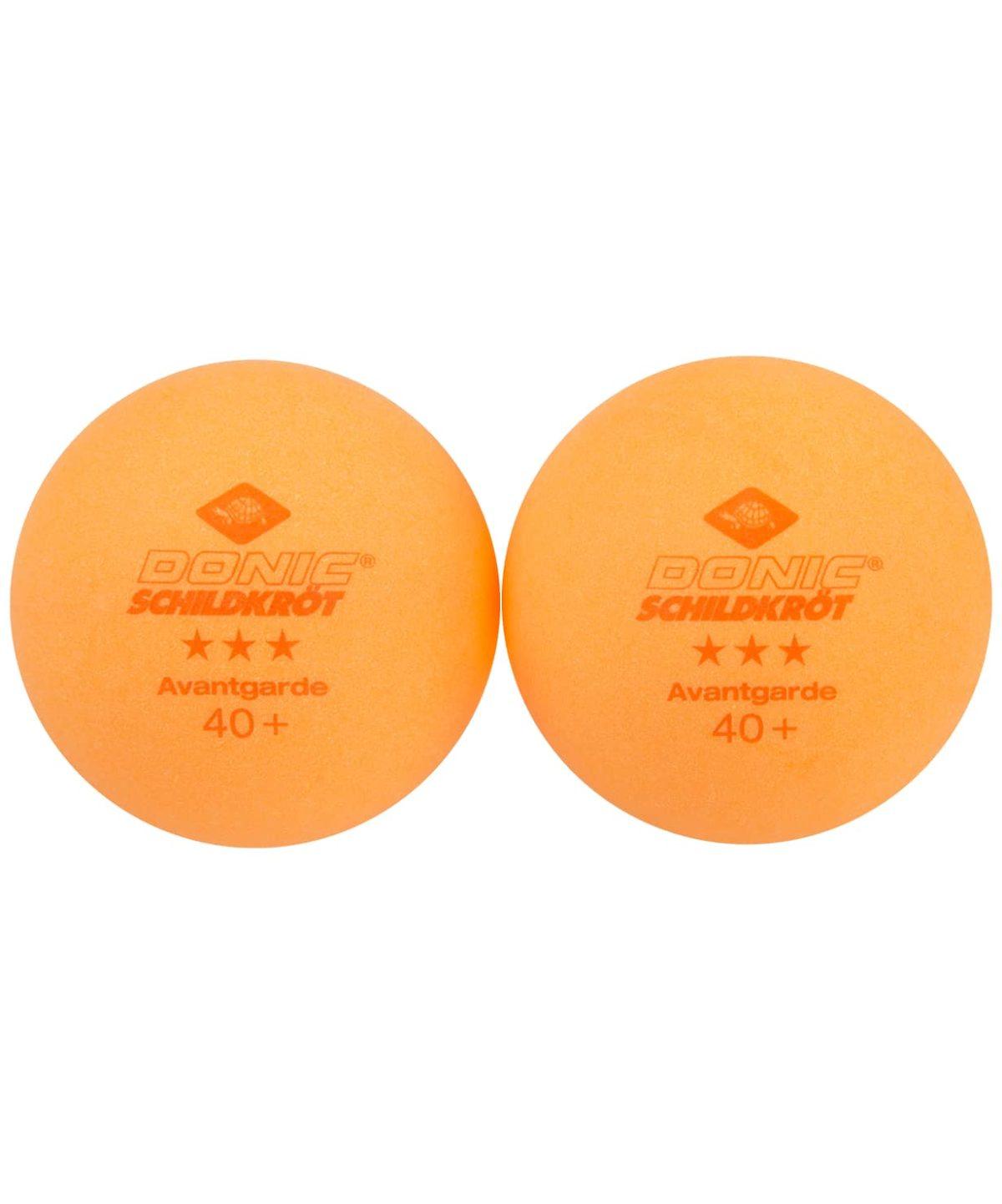 DONIC Schildkroet Avantgarde 3*** Мяч для настольного тенниса  608530: оранжевый - 2