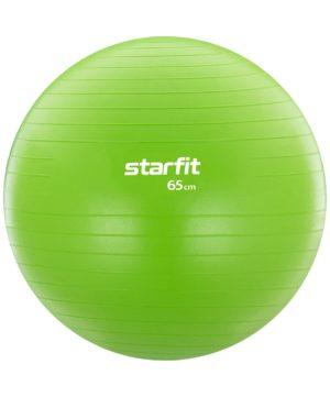 STARFIT Фитбол антивзрыв 65см.1000гр. без насоса GB-104: зелёный - 16