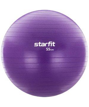 STARFIT Фитбол антивзрыв 55см, 900гр, с ручным насосом GB-106 - 15