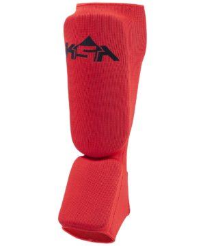 KSA Защита голень-стопа Rock, пэ, детский  17877: красный - 18