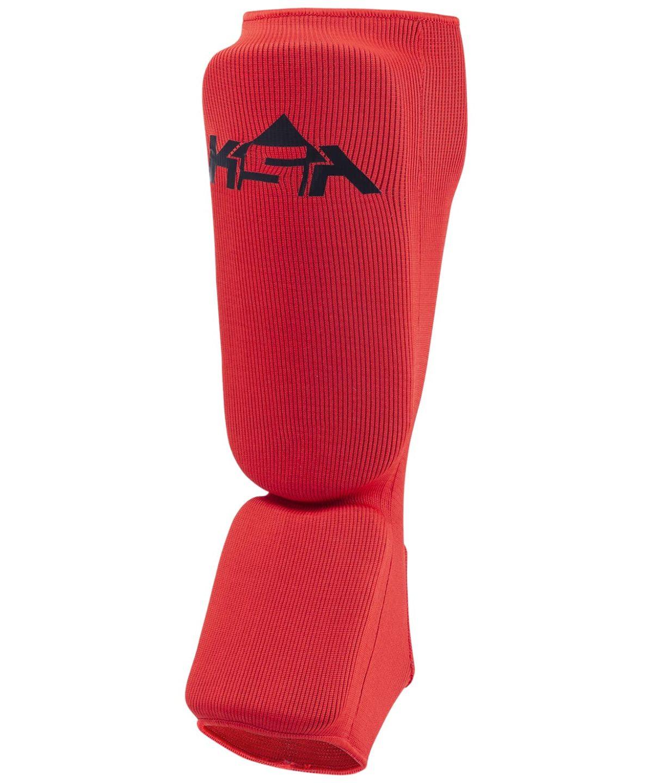 KSA Защита голень-стопа Rock, пэ  17878: красный - 1