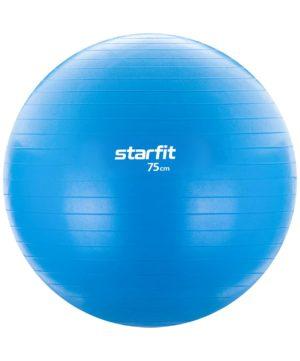 STARFIT Фитбол антивзрыв 75 см 1200 гр, без насоса GB-104: голубой - 16