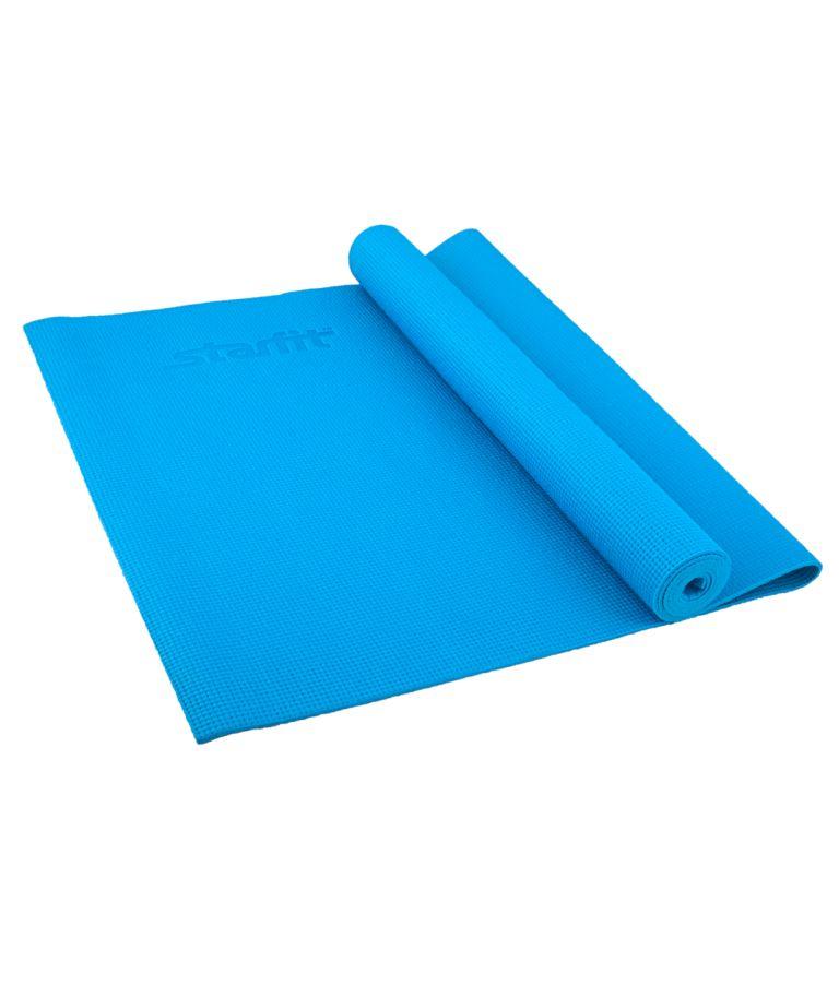 STARFIT Коврик для йоги FM-101 173х61х0,8см: синий - 1