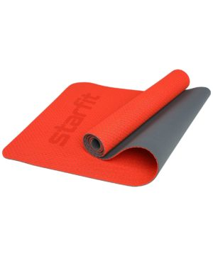 STARFIT Коврик для йоги, перфорированный FM-202 173х61х0,5 см: ярко-красный - 15