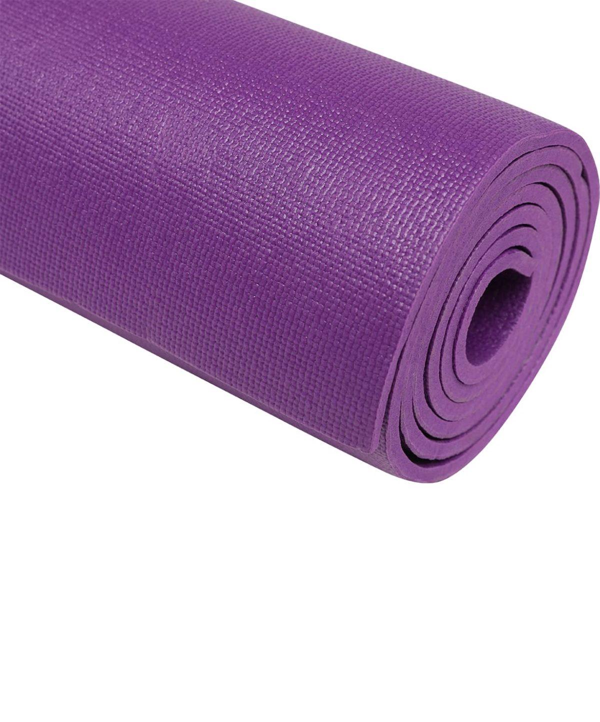 STARFIT Коврик для йоги FM-103 173х61х0,6 см: фиолетовый - 2