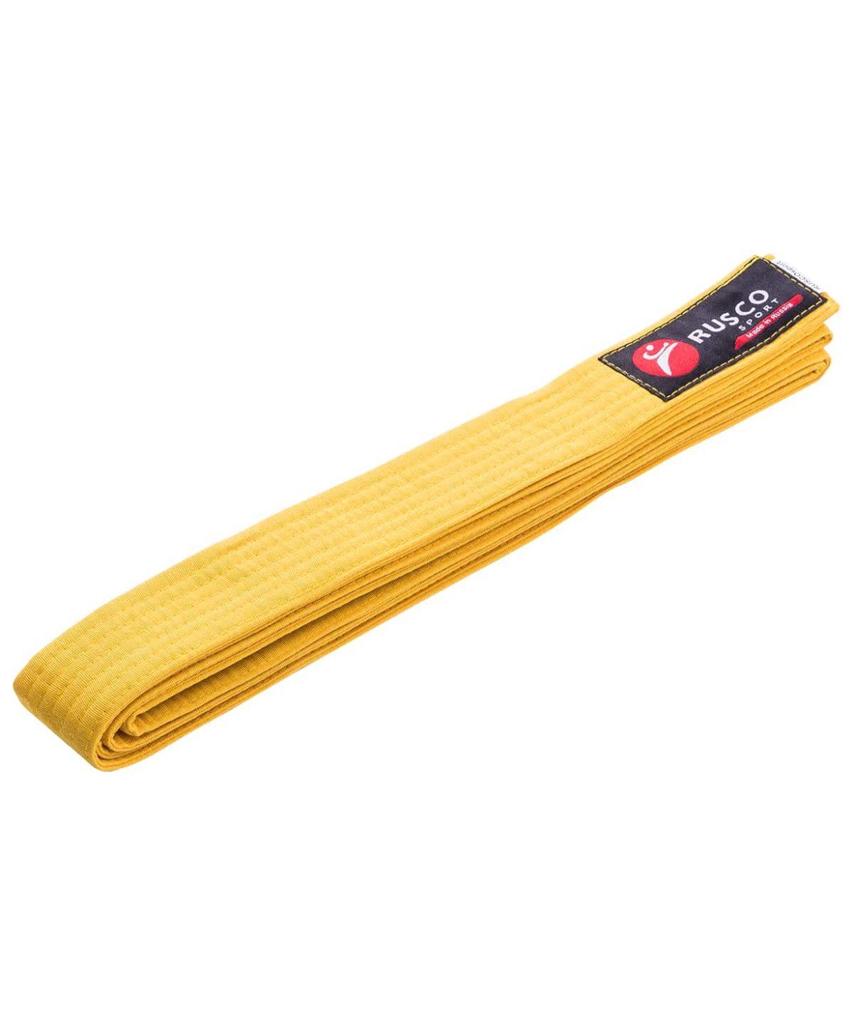 RUSCO Пояс для единоборств  10489: жёлтый - 1