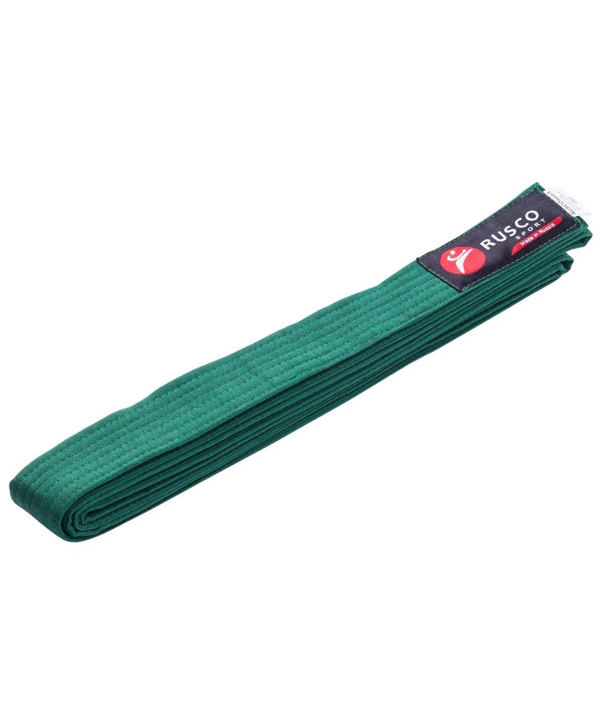 RUSCO Пояс для единоборств  10489: зелёный - 1