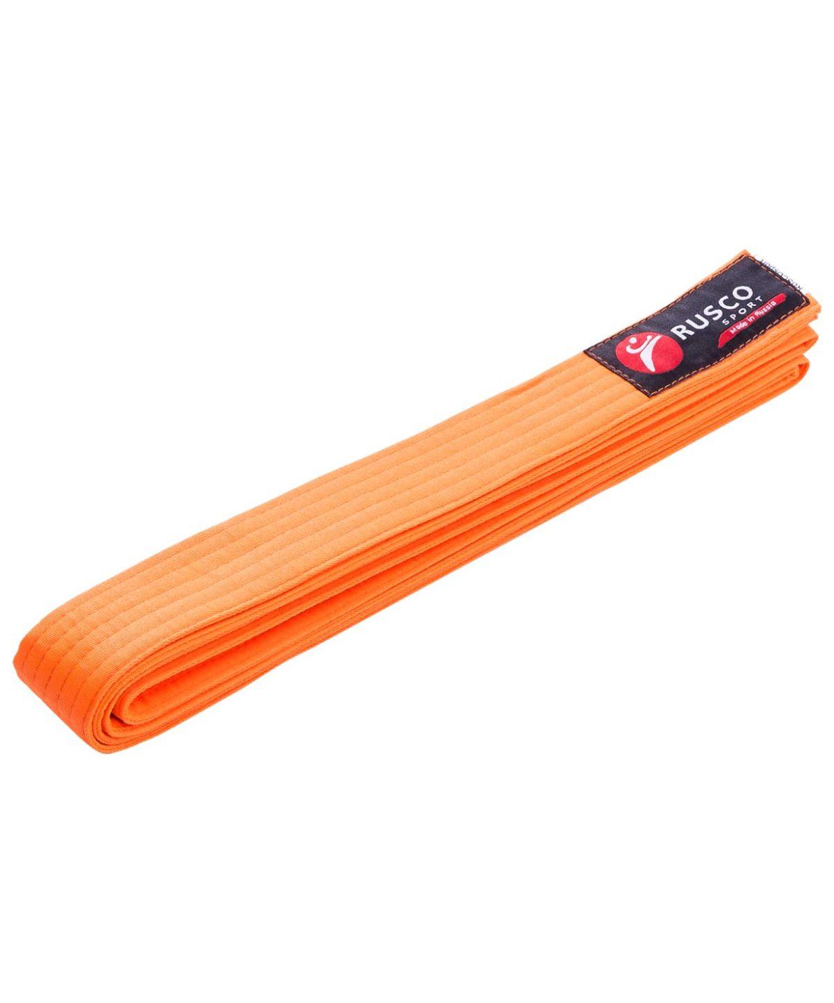 RUSCO Пояс для единоборств  10489: оранжевый - 1