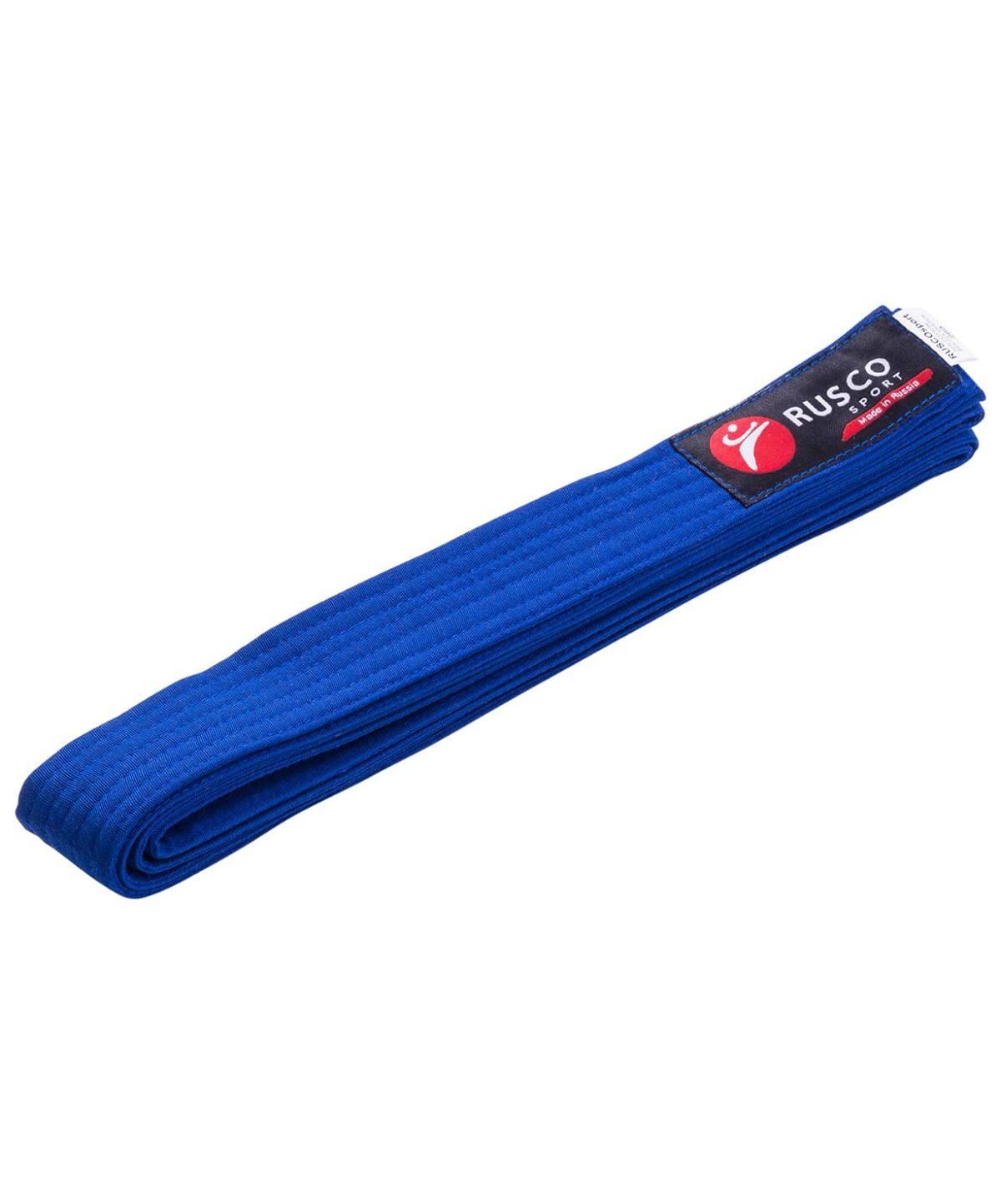 RUSCO Пояс для единоборств  10489: синий - 1