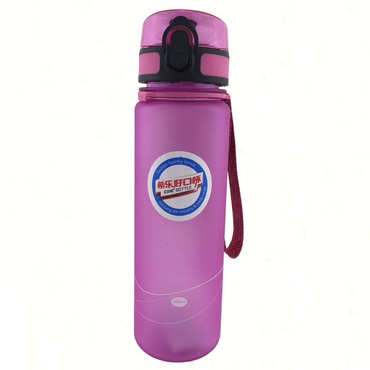 CILLE Бутылочка для воды 600 мл 1647: розовый - 1