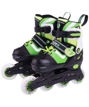 RIDEX Ролики раздвижные  Joker Green - 8