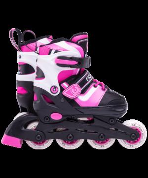 RIDEX Ролики раздвижные Joker Pink - 3