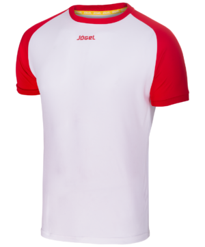 JOGEL Футболка футбольная, белый/красный   JFT-1011-012 - 14