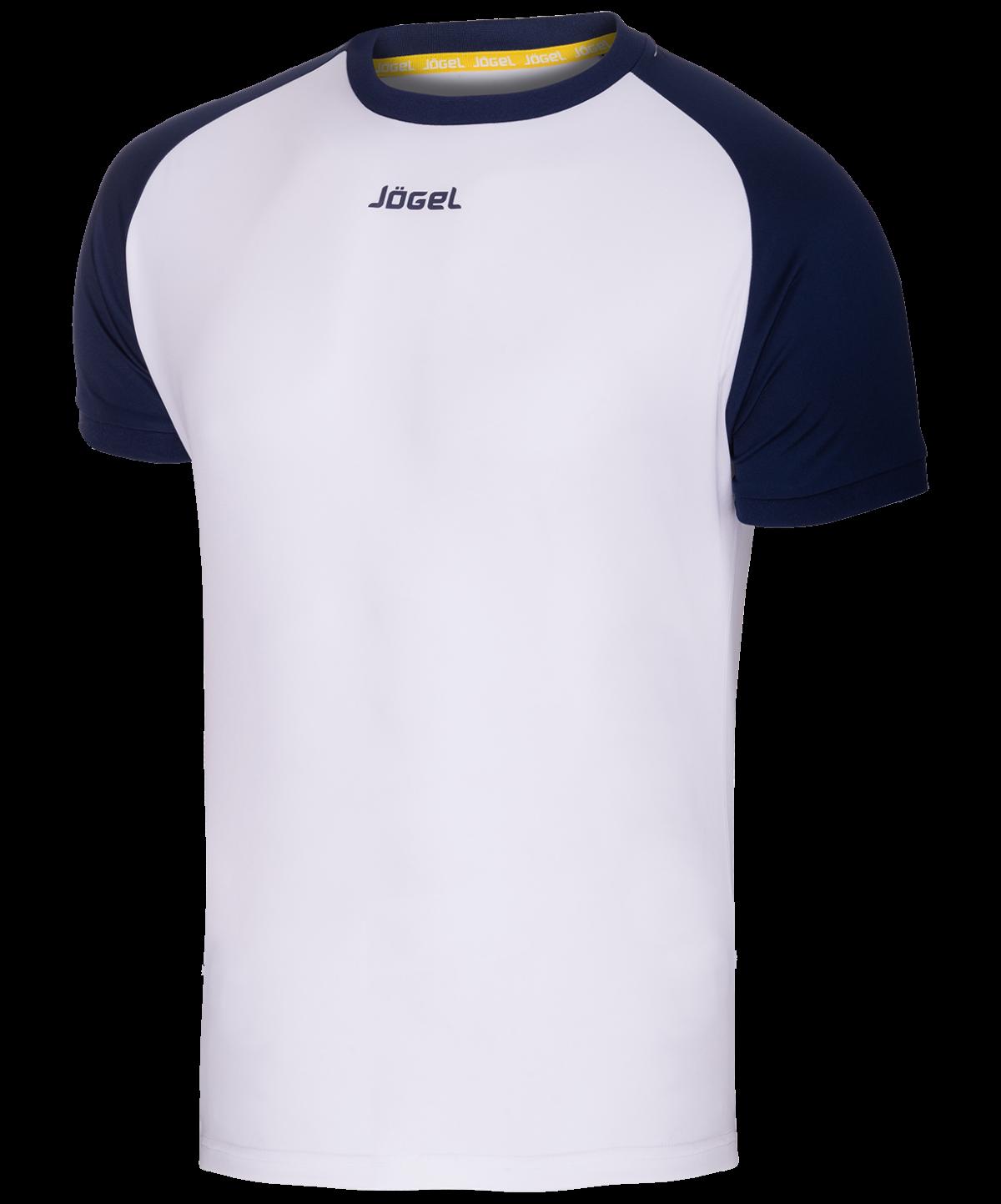 JOGEL Футболка футбольная, белый/темно-синий   JFT-1011-019 - 1
