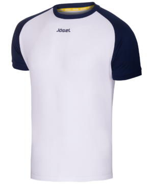 JOGEL Футболка футбольная, белый/темно-синий   JFT-1011-019 - 14