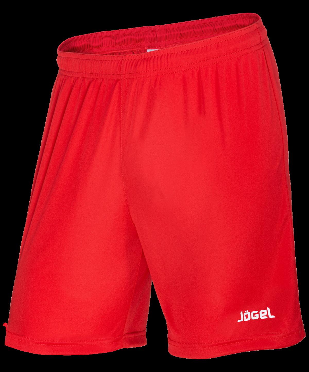 JOGEL Шорты футбольные, красный/белый  JFS-1110-021 - 1