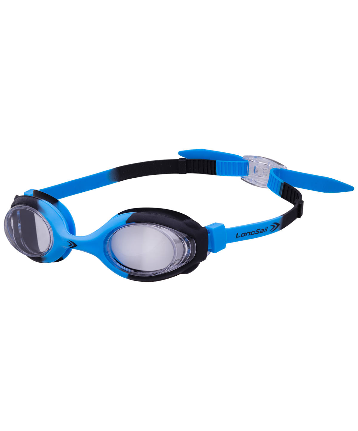 LONGSAIL Kids Crystal Очки для плавания  L041231: синий/черный - 1