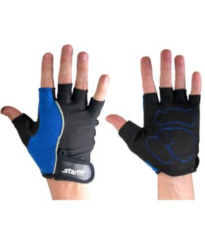 STARFIT Перчатки для фитнеса SU-108  : синий/черный - 10
