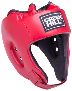 GREEN HILL Шлем открытый Alfa  HGA-4014: красный - 5