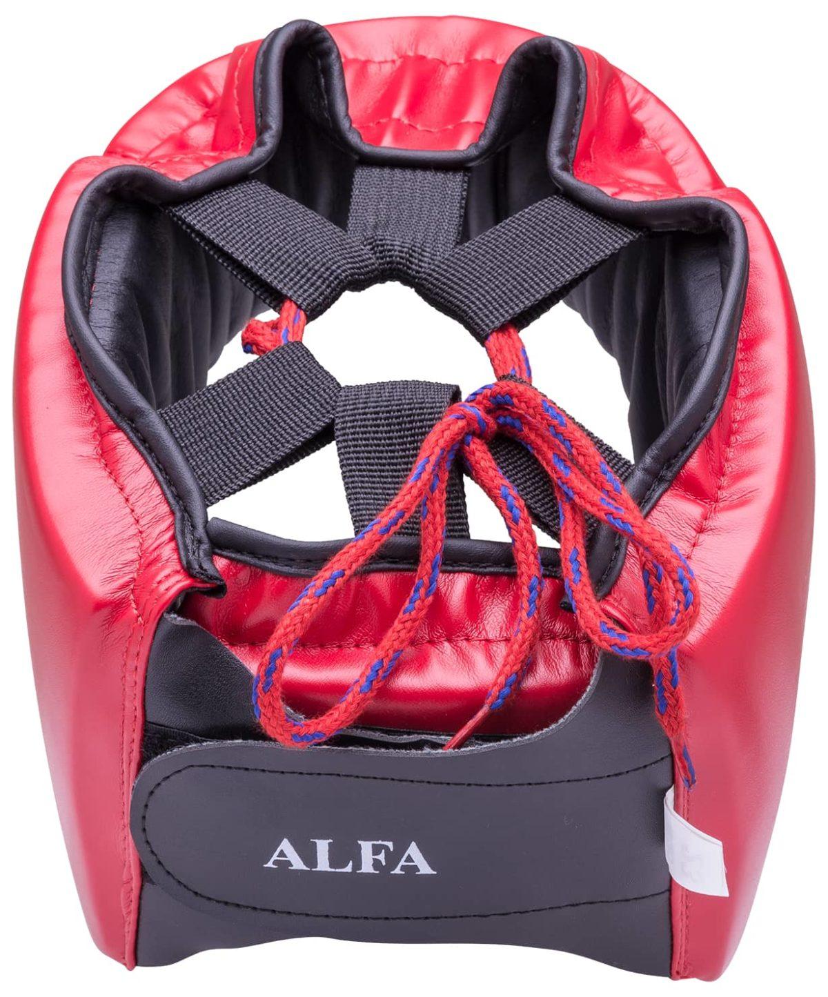 GREEN HILL Шлем открытый Alfa  HGA-4014: красный - 3