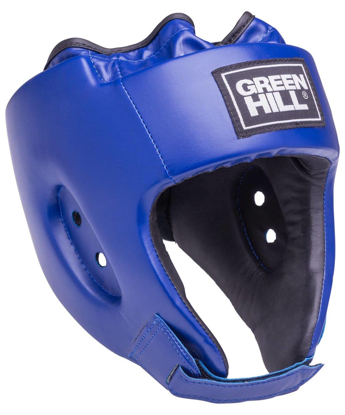 GREEN HILL Шлем открытый Alfa  HGA-4014: синий - 1