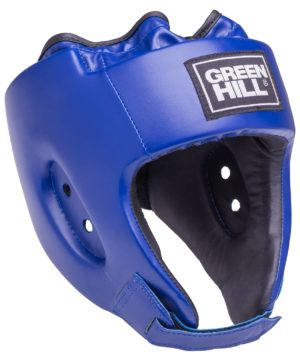 GREEN HILL Шлем открытый Alfa  HGA-4014: синий - 6