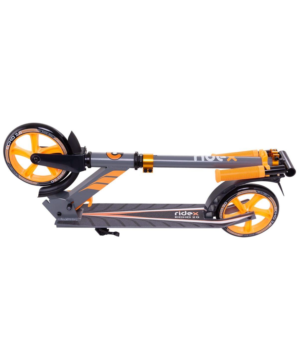 RIDEX Echo Самокат 2-х колесный 180 мм  Echo: оранжевый - 2