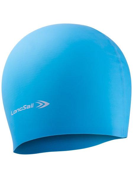 LONGSAIL  Шапочка для плавания силикон: голубой - 1