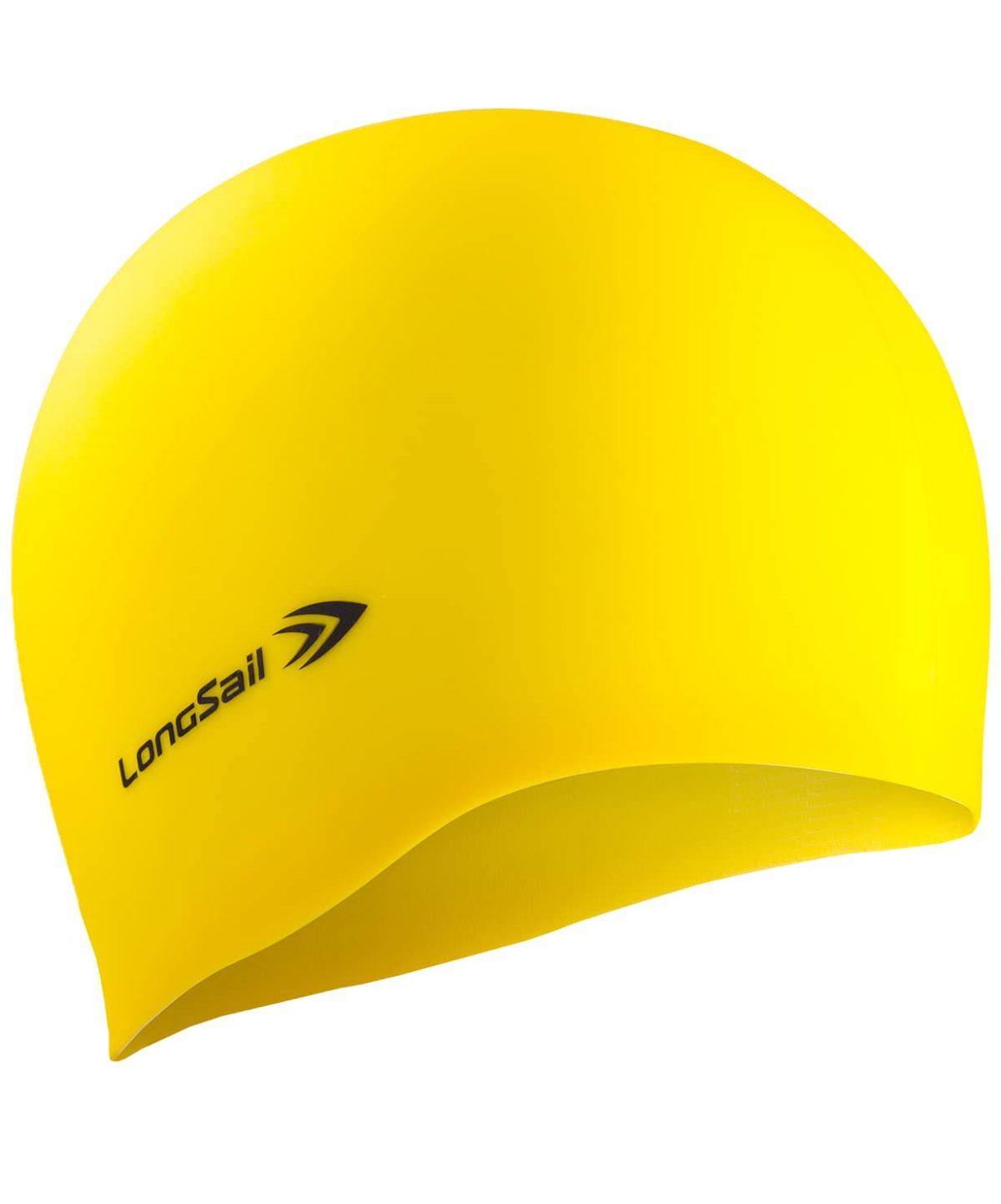 LONGSAIL  Шапочка для плавания силикон: жёлтый - 1