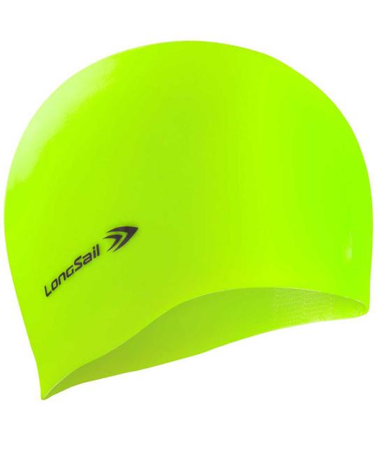 LONGSAIL  Шапочка для плавания силикон: зелёный - 1