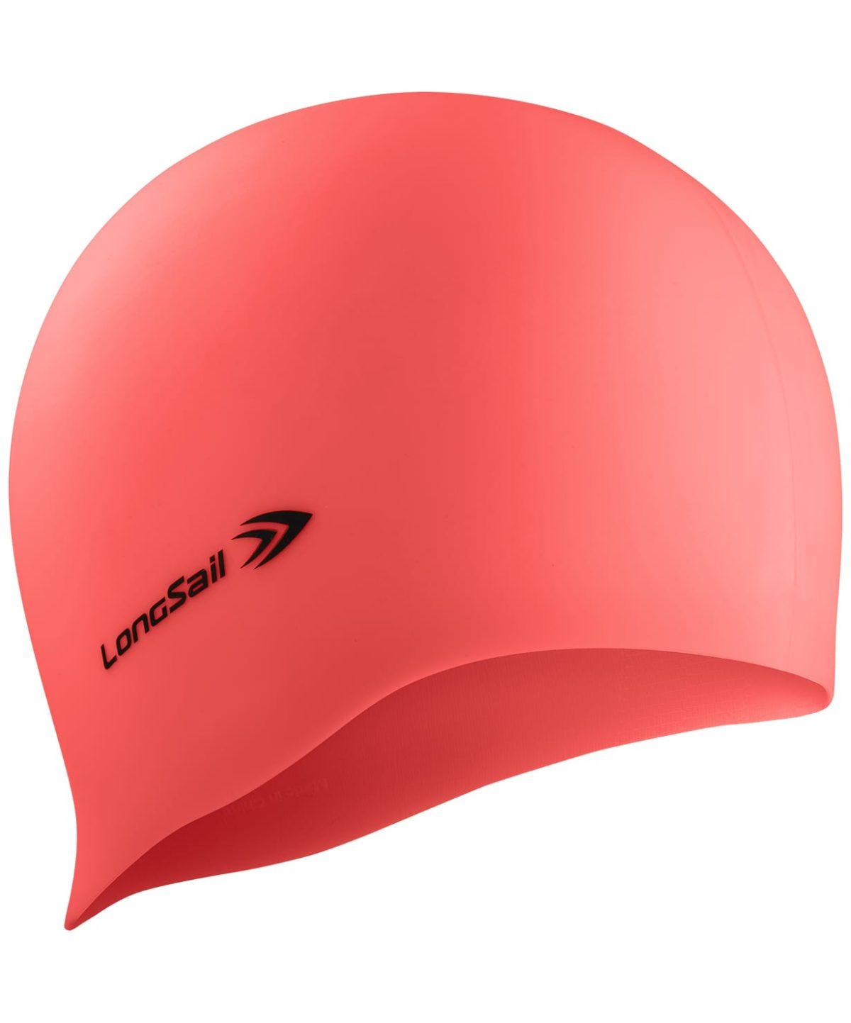 LONGSAIL  Шапочка для плавания силикон: коралл - 1